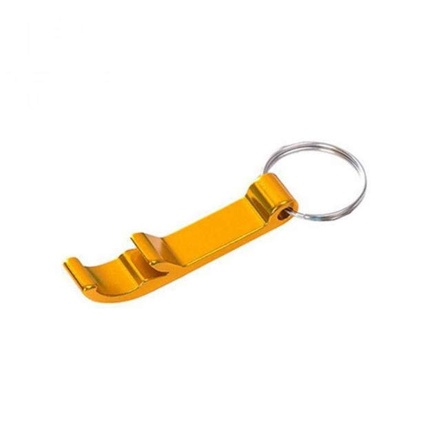 Creative Kitchen Accessories  Portable 4 In 1 Bottle Opener Key Ring Chain Keyring Keychain Metal Beer Bar Tool Wedding Party