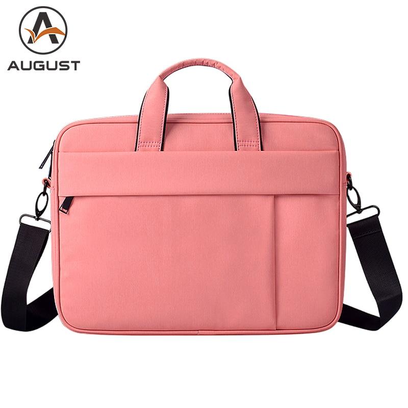 Brand Women Briefcase 15.6 Inch Laptop Handbag Business 13.3 14.1 Inch Computer Bag Large Capacity Office Messenger Bag