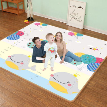 Baby Puzzle Play Mat Portable Foldable Baby Climbing Pad 200X180x5MM Baby Play Mat Foam Pad XPE Tasteless Parlor Game Blanket baby crawling mat waterproof foldable cartoon rug xpe puzzle children s mat climbing pad foam puzzle game blanket baby carpet