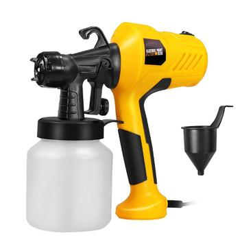 Spray Gun Electro 220V High Power Home Electric Paint Sprayer Portable Airbrush Home Decoration Clean Perfect for Beginner