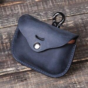 Image 2 - Роскошная сумка для SONY AirPods, Bluetooth, беспроводные наушники, кожаный чехол, чехол для Sony, чехол, чехол для зарядного устройства, чехол s