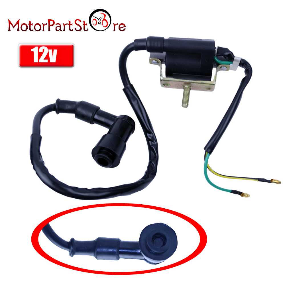 Ignition Coil for <font><b>Honda</b></font> XL185 XL <font><b>XR</b></font> 70 75 80 100 125 175 185 200 250 <font><b>350</b></font> D50 CT70 CT90 C70 Moped Scooter D50 image