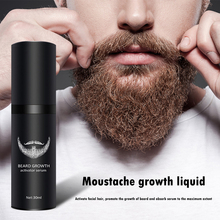 Beard Growth Serum - Hair Growth Oil for Men Facial Hair Supplement Thicker and Fuller Mustache Grower Perfect Gift for Men Dad