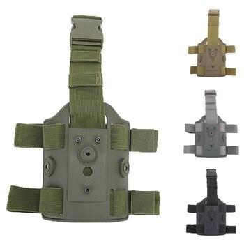 Adjustable Tactical Leg Holster Platform Hunting Drop Leg Holsters Platform Durable Shooting Thigh Pistol Gun Holsters Platforms фото