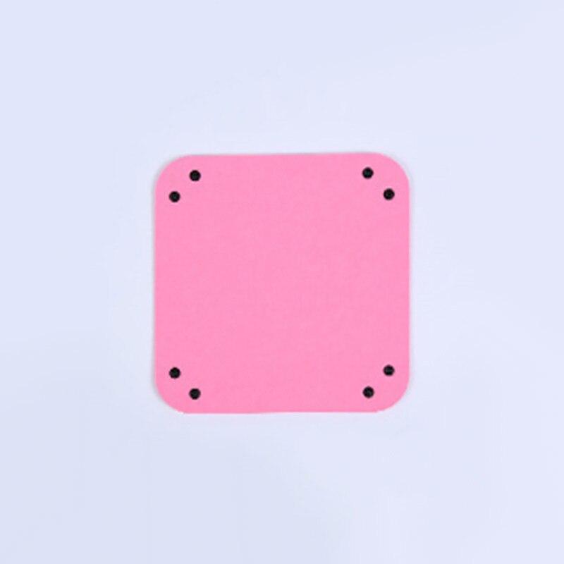 Складная коробка для хранения из искусственной кожи, квадратный поднос для настольной игры в кости, кошелек для ключей, коробка для монет, поднос, настольная коробка для хранения, лотки, Декор - Цвет: B-4