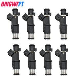 Image 1 - 8 unids/set de alta calidad los inyectores de combustible 1984E2 01F003A 1984 E2 348004 de 75116328, 0280156328 para Peugeot 206 experto Citroen 2,0/16 V