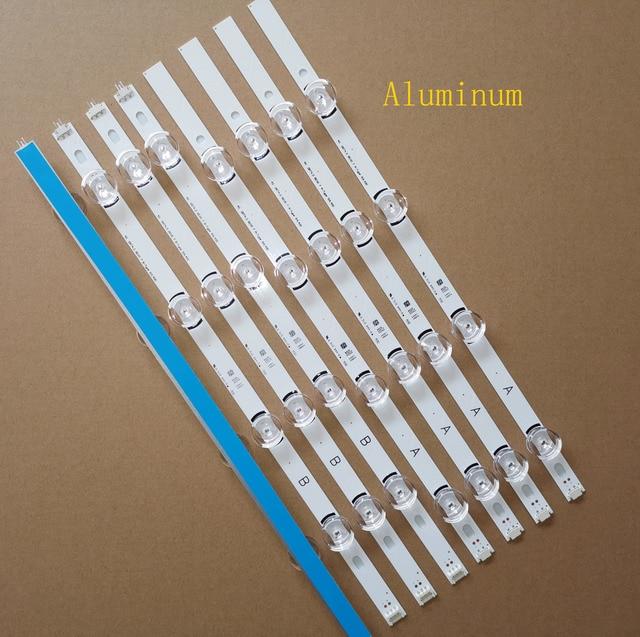 8PCS/set New LED Strip For LG 40LF630V 40LF5750 INNOTEK 40 DRT4.0 DRT 4.0 3.0 40 inch A B SVL400 6916L 0885A 0884A