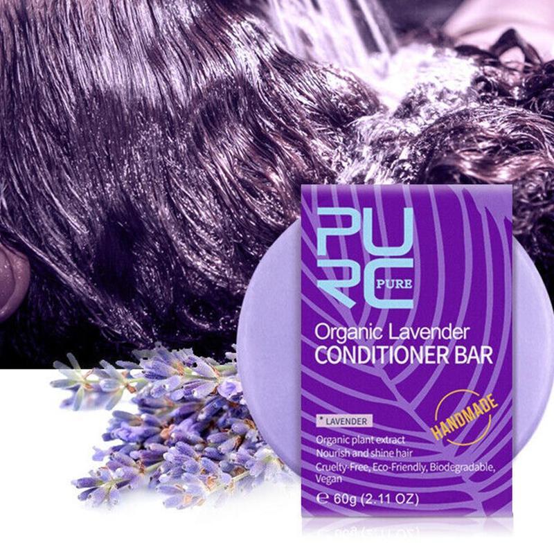 Lavender Handmade Soap Hair Shampoo Cold Processed Care Hand 100% Pure Lavender Shampoo Hair Shampoo Soap Organic Hair Soap S7A6