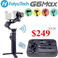 Feiyu G6 מקסימום 3 ציר Gimbal כף יד לראי מצלמות/Smartphone/פעולה מצלמות/כיס מצלמות, מקסימום מטען 2.65LB