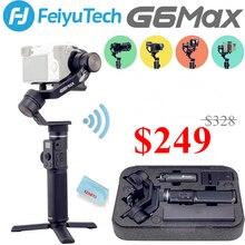Feiyu G6 MAX 3 Axis Handheld Gimbal for Mirrorless Cameras/Smartphone/Action Cameras/Pocket Cameras, MAX Payload 2.65LB