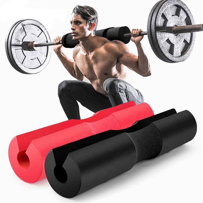 Barbell Pad Pull Up Squat Bar Shoulder Back Protect Pad Grip Support Weight Fitness Weightlifting