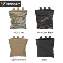 IDOGEAR MOLLE Magazine Dump Pouch Tactical Mag Drop Pouch Recycling Zak Opbergtas 3550(China)