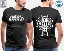 (Скейт) самоубийственные скейтборды dogtown логотип рубашка