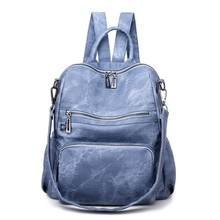 women backpack solid pu leather school travel backpack for girl teenagers large capacity waterproof bag high quality backpacks dicool high quality pu leather backpack school travel bag backpack women famous brands backpack bolsos mujer vintage backpacks page 5