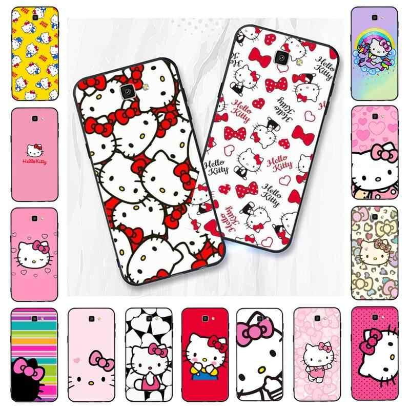 Babaite Cute Kawaii Hello Kitty Black Tpu Soft Rubber Phone Cover For Samsung Galaxy J7 J6 J8 J4 J4plus J7 Duo J7neo J2 J5 Prime Phone Case Covers Aliexpress