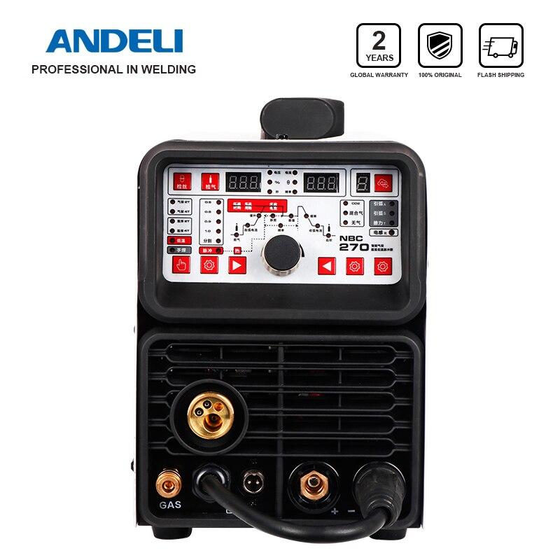 Andeli Multifunctionele Lasmachine Mig Welder Tig Pulse Mma En Koude 4 In 1 Koud Lassen Machine Welding Wire Feeder Equipment