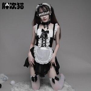 Image 1 - נשים סקסי Nite יפני חדרניות תלבושות Cosplay תלבושת סקסי ליל כל הקדושים משרת מבוגרים נשים בית ספר ילדה תלבושות
