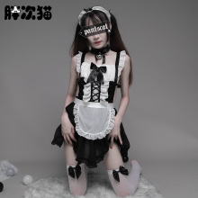 Women Sexy Nite Japanese Maid Costume Cosplay Outfit Sexy Halloween Servant Costumes for Adult Women School Girl Costume