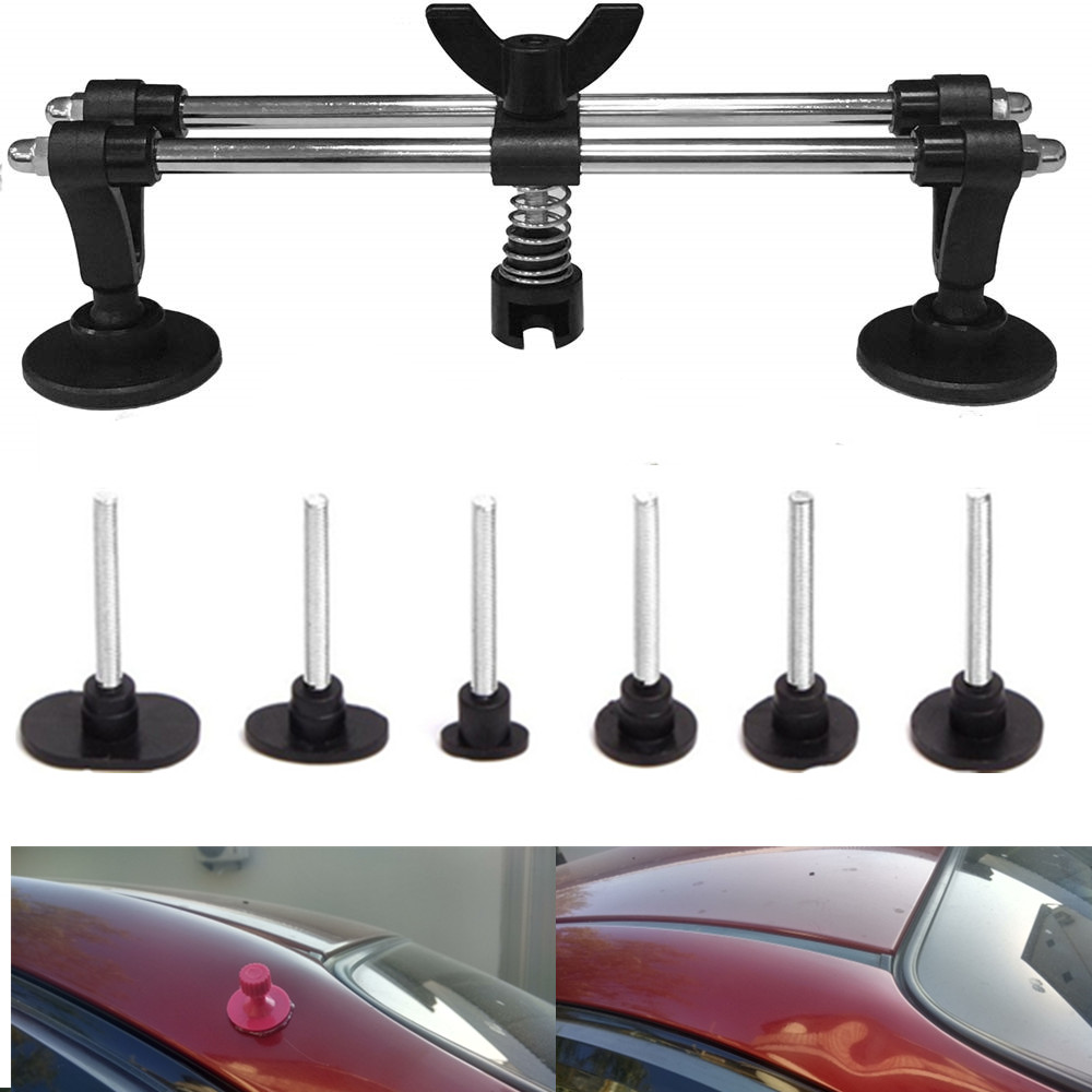 Blackr herramienta para abolladuras de puente para el cuerpo del coche Herramienta de reparaci/ón de abolladuras sin pintura