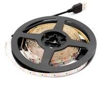 USB 5V Neon Led Strip Light SMD 2835 50CM 1M 2M 3M 4M 5M 60Led/m TV Backlight USB Led Light Strip 5 V Diode Neon Lamp