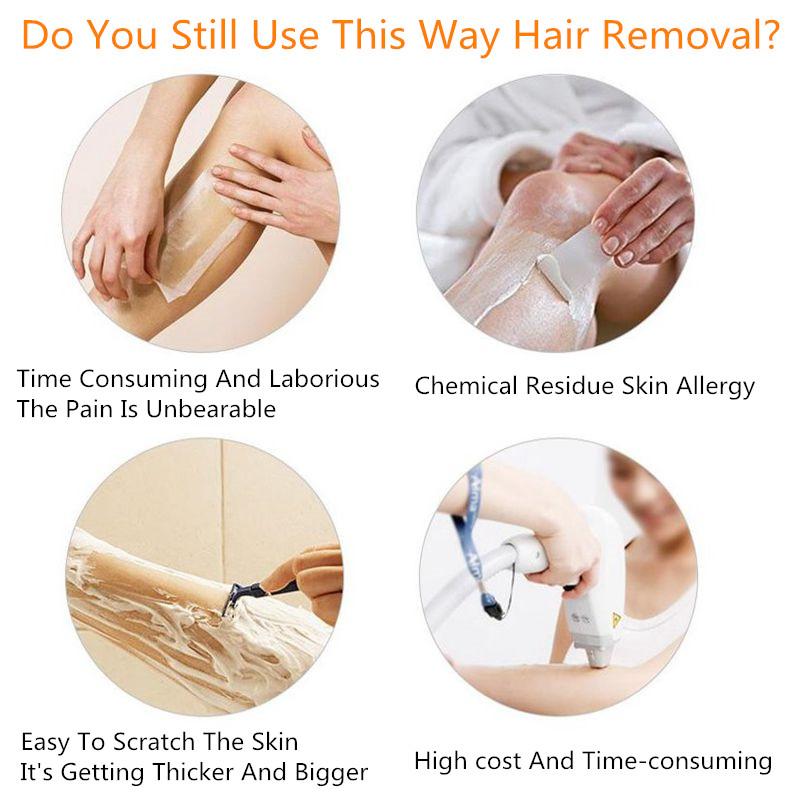 IPL laser hair remover