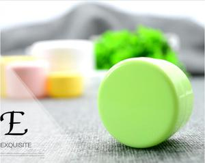 Image 5 - 10g/20g/50g/100g doldurulabilir şişeler plastik boş makyaj kavanoz Pot seyahat yüz krem/losyon/kozmetik konteyner ücretsiz kargo