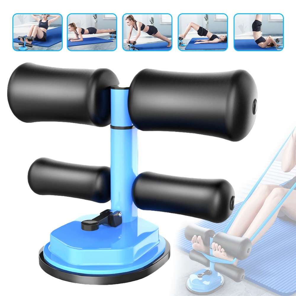 Gym Workout Abdominal Curl Exercise Sit-ups Push-up Assistant Device Lose Weight Equipment Ab Rollers Home Fitness