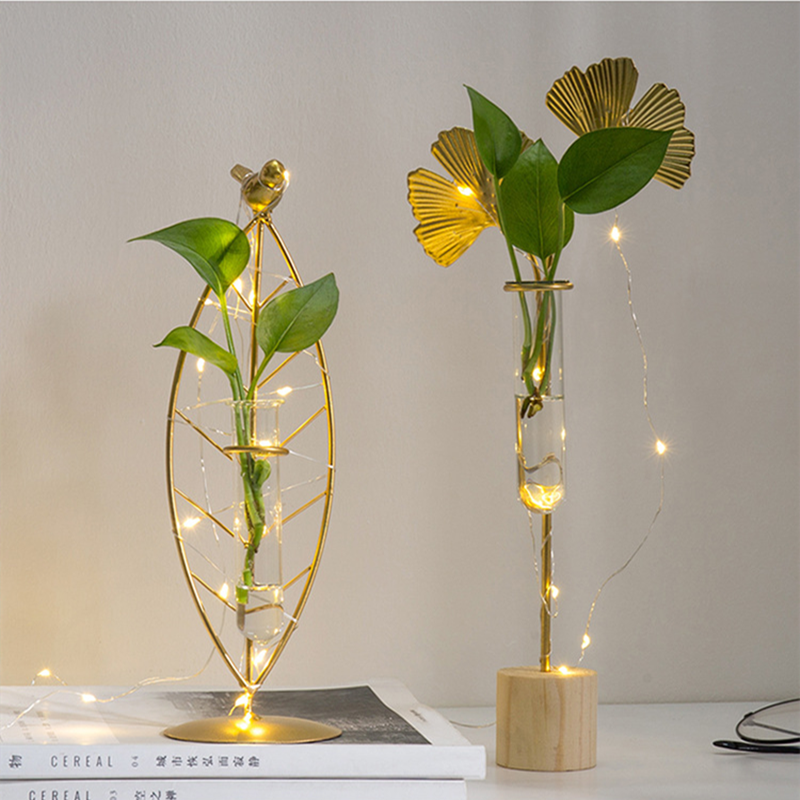 7.8US $ 40% OFF Nordic Flower Vase Decoration Flowers Living Room Home Decoration Accessories Home T...