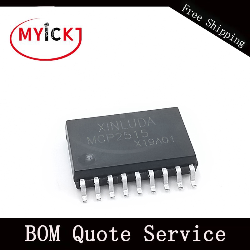 10 шт. MCP2515T-E Китай материал IC может контроллер W/SPI 20TSSOP IC чип