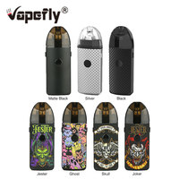 Newest Vapefly Jester Pod Kit 1000mAh Battery 2ml Rebuildable Dripping Pod Mesh Coil & 3 Output Modes Vape Pod Kit VS Drag Nano