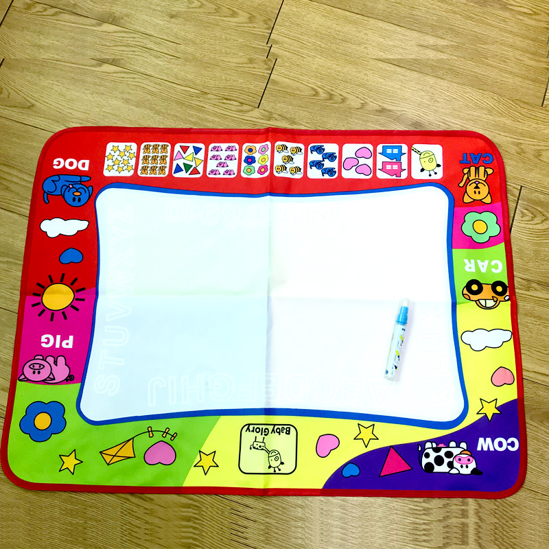 Magic Four Colors Water Canvas Doodle Mat Children Canvas Water Doodle Mat Children Water Canvas Doodle Toy