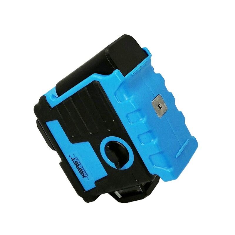 XEAST 12 linii 3D poziom lasera bateria litowa samopoziomujący 360 poziome i krzyżujące się pionowo linie mogą korzystać z odbiornika