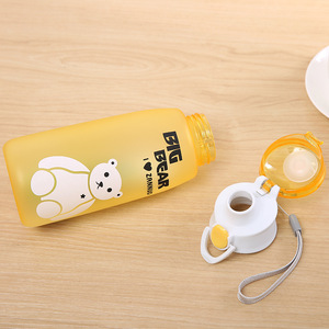 Image 4 - 500ml Water Bottle Leakproof Material My Sports Drink Top Quality Tour hiking Portable Climbing Camp Bottles H1016