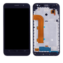 High quality For ASUS Zenfone Ir ZB500KL X00AD LCD Screen and Digitizer Full Assembly with Frame high quality for asus zenfone 3 ze552kl lcd screen and digitizer full assembly