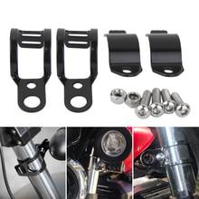 30 45mm Motorcycle Headlight Mounting Bracket Fork Ear Adjuster Clamp For Yamaha Honda Kawasaki Suzuki Etc Motorcycle Accessorie