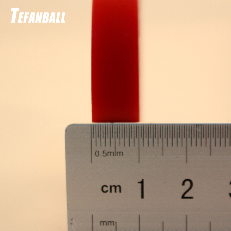 Купить 3000 мм красная прозрачная силиконовая двухсторонняя клейкая