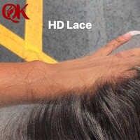 QueenKing волос 13x4 уха к уху супер HD кружева бразильские прямые волосы кружева фронталы швейцарские кружева Remy волосы