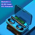 F9 беспроводные наушники TWS Bluetooth наушники 9D стерео спортивные наушники-вкладыши с микрофоном гарнитура наушники для телефона