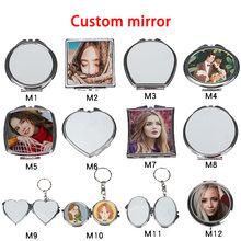 Зеркало для макияжа индивидуальный дизайн зеркало печать Вашего