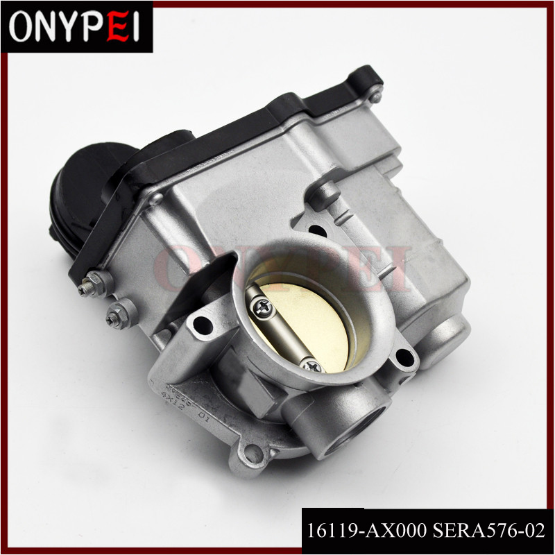 RME45-01 SERA576-02 16119-AX000 Throttle Body For Nissan Micra K12 2005-2007 RME4501 SERA57602 16119AX000 SERA576 02 16119 AX000