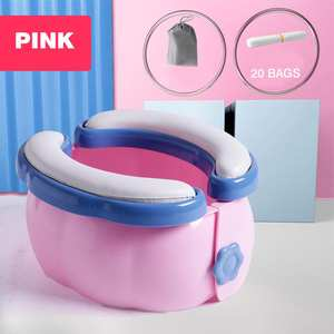 Toddler Potty Liners Toilet-Commode Folding Travel Disposable Camping New with 20pcs