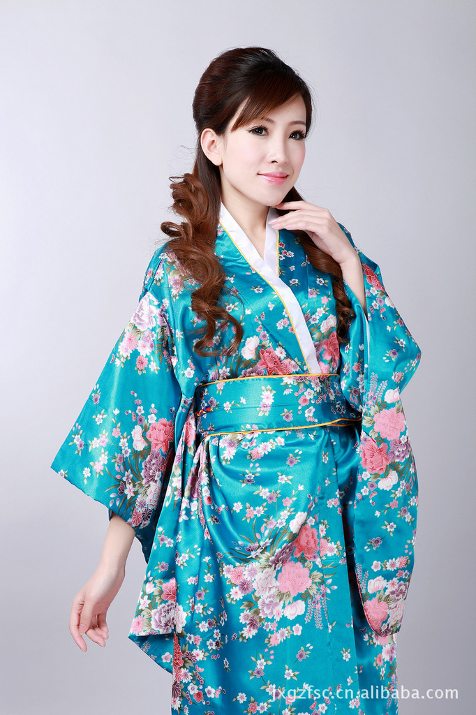Wholesale Kimono Chinese Costume Tops H0044-A