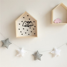 Nordic Style Photography Props Hanging Children's Bed Room Children's Clothing Store Stars Moon Decoration Home Decoration 150cm