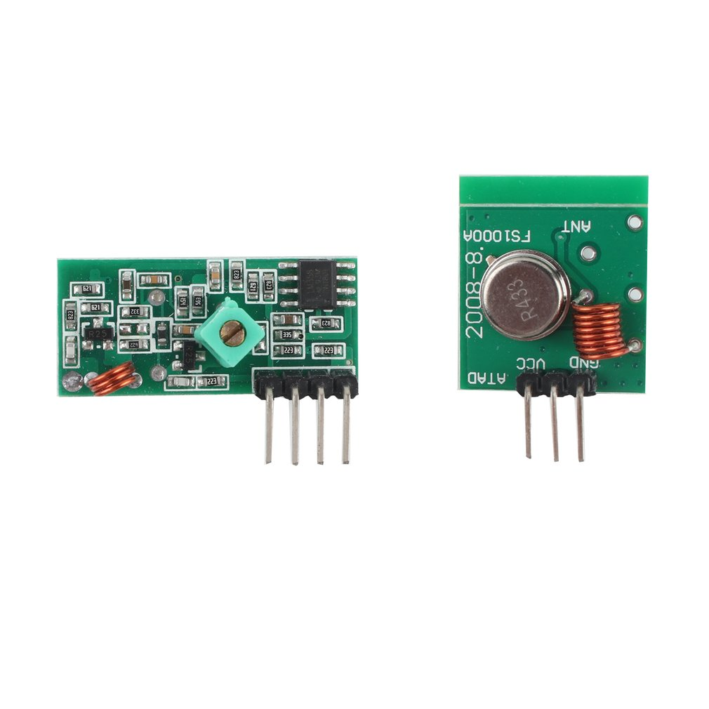 DC5V Transmission Distance 50-100m Connectors Wireless RF Transmitter And Receiver Module Link Kit For Arduino/ARM/MCU Remote