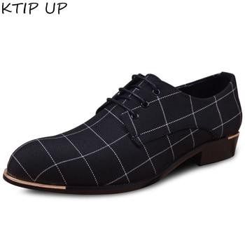 Fashion Business Men Casual Leather Shoes High Quality Office Shoes Men Wedding Shoes Brand Lace Up Dress Shoes Men Oxfords цена 2017