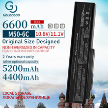 Golooloo 6600mAh New Battery for ASUS A32 M50 A33 M50 M50 N53S N53SV N53T N61 N53TA N61J N61D N61VG N43 N61JQ M50S n32 n61 N53J