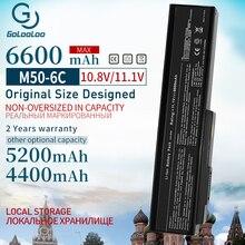 Golooloo 6600mAh nowa bateria do ASUS A32 M50 A33 M50 M50 N53S N53SV N53T N61 N53TA N61J N61D N61VG N43 N61JQ M50S n32 n61 N53J