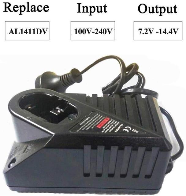 """בריטניה/האיחוד האירופי/ארה""""ב Plug NI CD NI MH מטען עבור בוש 7.2V 14.4V NI CD NI MH סוללה מטען החלפת 14.4v Chargeur סוללות"""