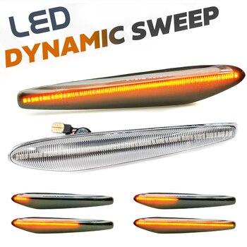 Luces LED dinámicas con indicador lateral, 2 uds., luces intermitentes de flecha...