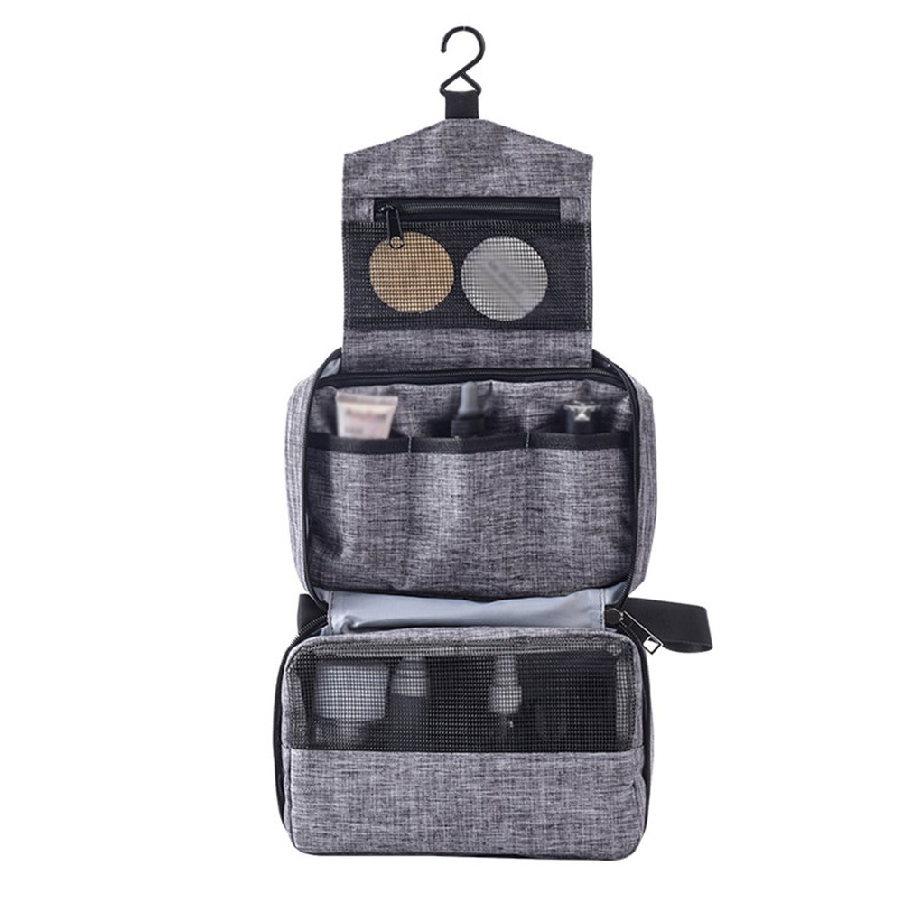 Outdoor Portable Clothing Storage Bag Multi-Function Hanging Cationic Letter Wash Bag Cosmetic Bag Fashion